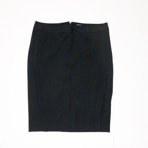 Ann Taylor loft black pencil skirt NWT 0P